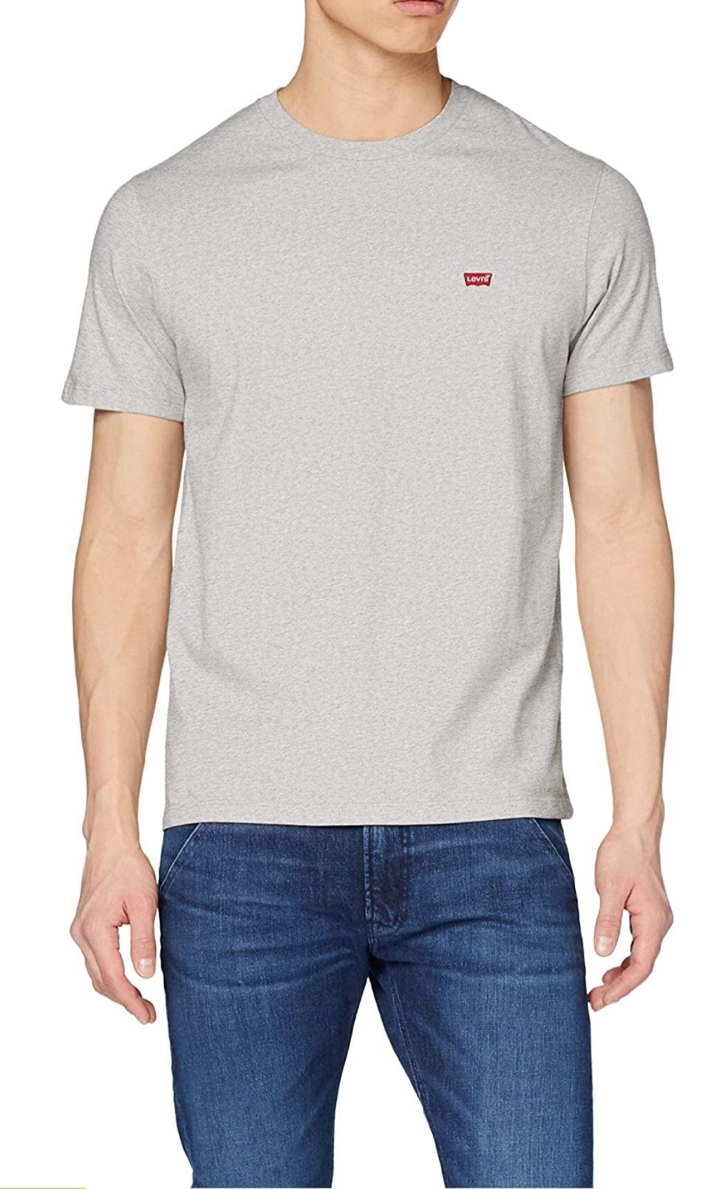 Graues Levi's the Original Tee T-Shirt [Amazon Prime]