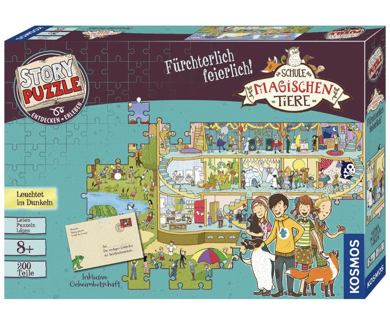KOSMOS 698690 Die Schule der magischen Tiere - Fürchterlich feierlich, Story Puzzle - Prime Deal