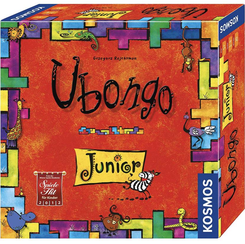 [Prime] Kosmos Spiele: Ubongo Junior oder Ubongo Junior 3-D