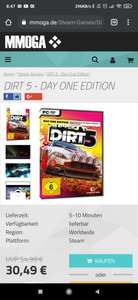 Dirt 5 Day One PC Key