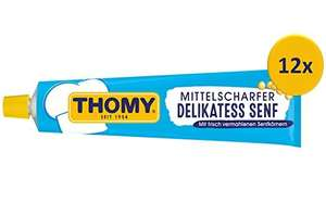 12x 200ml Tube Thomy Senf Mittelscharf (á 65Cent) @amazon Sparabo
