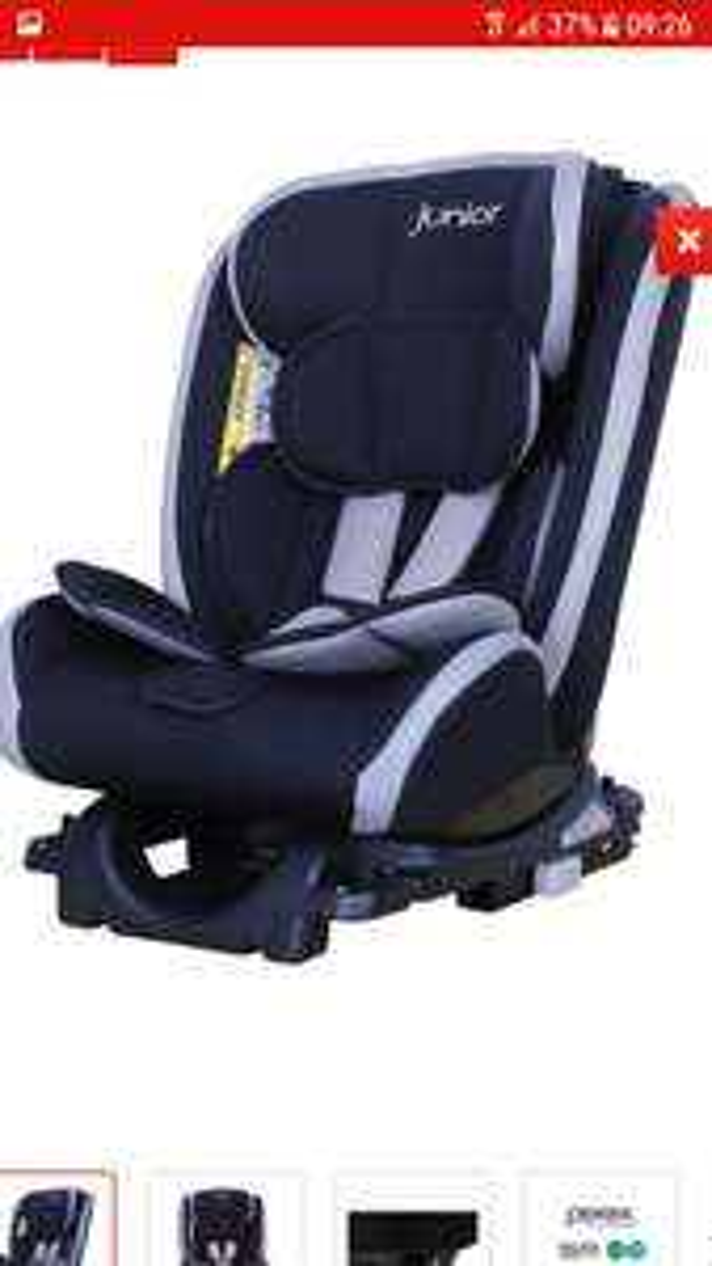 Petex Kindersitz Supreme Plus