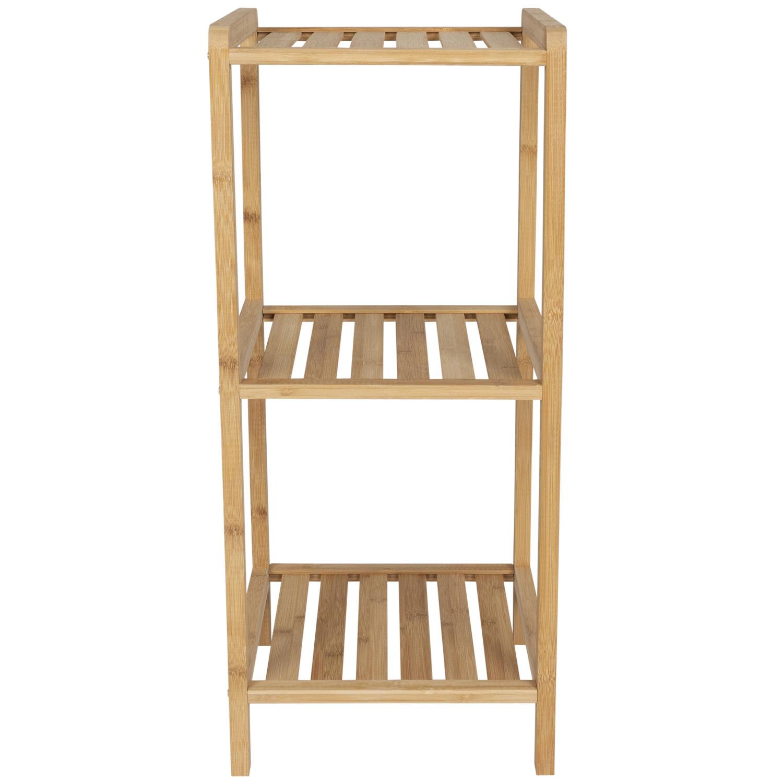 Action - Bambus Regal 33x33x75 cm für 8,95€.