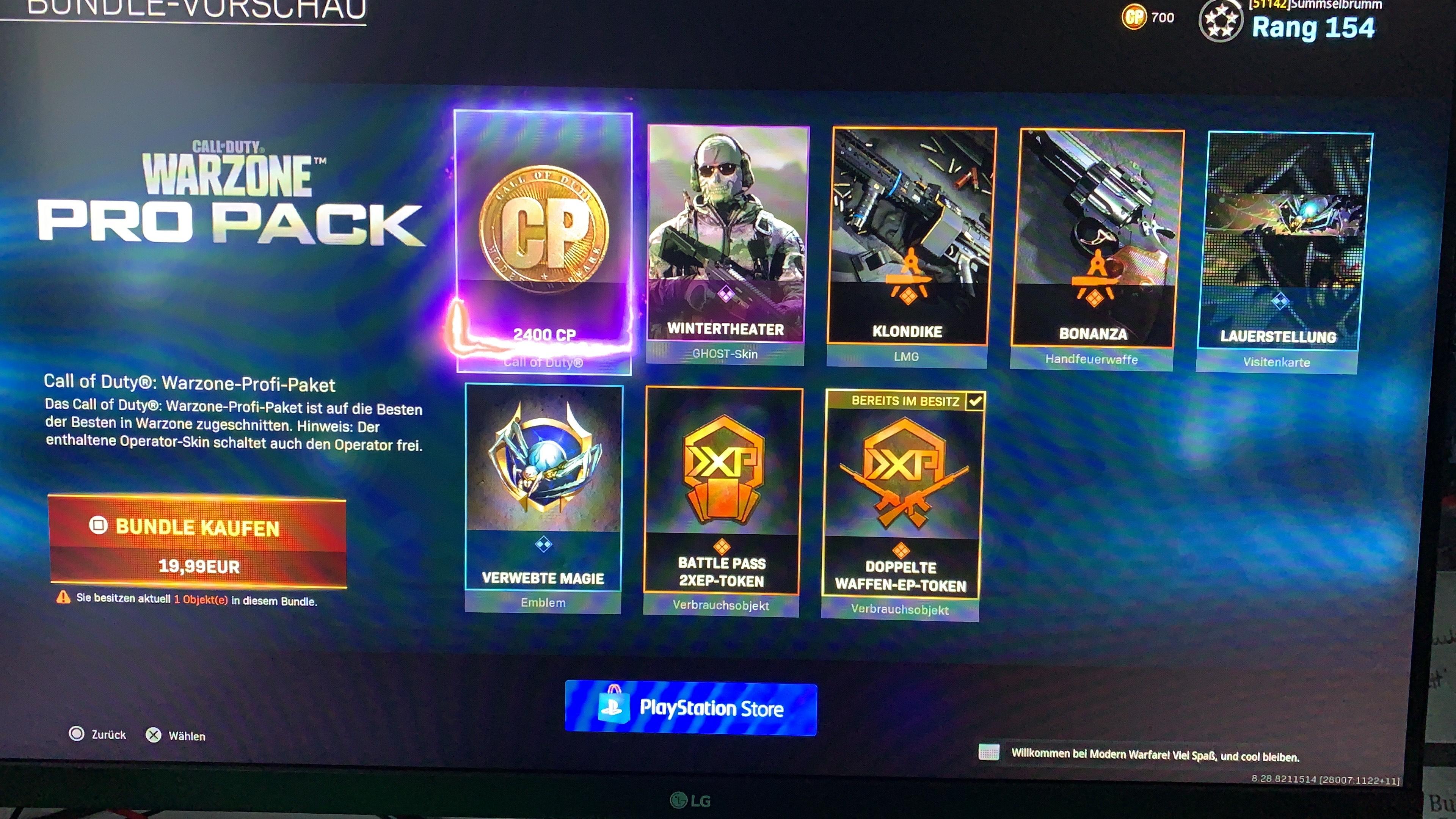 Call Of Duty Punkte plus gratis Operator, Waffenbauplänen und EP Boost