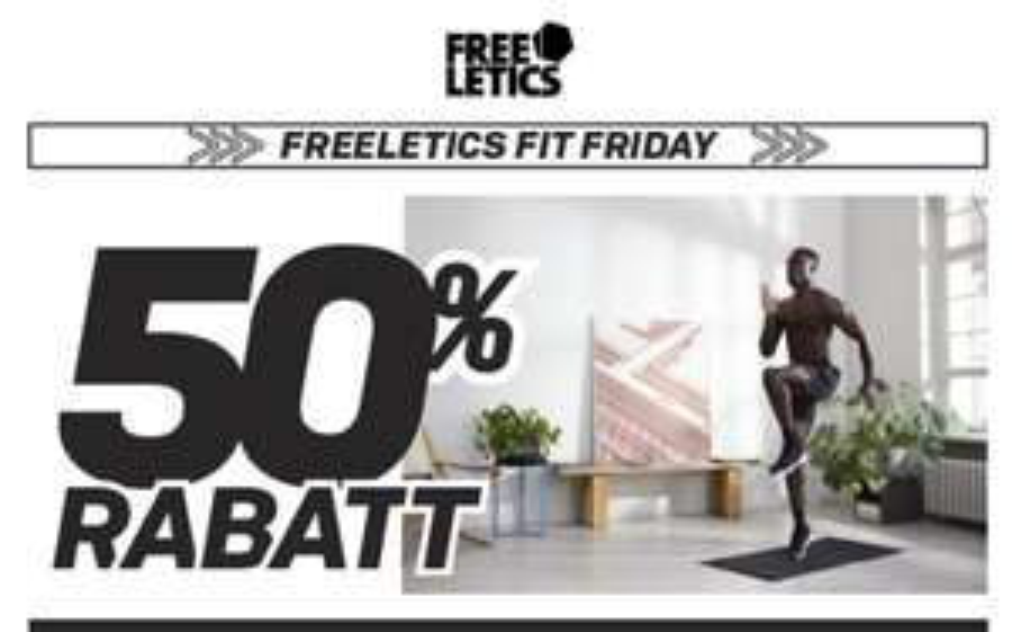 Freeletics 50% auf alle Abos