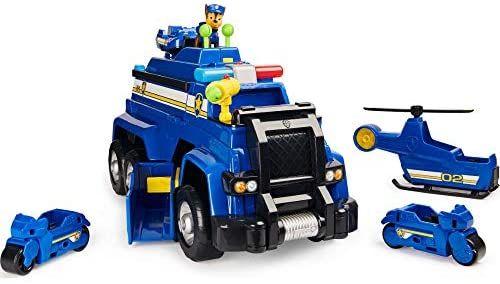 PAW Patrol 6058329 - 5-in-1-Polizeifahrzeug von Chase, Rofu