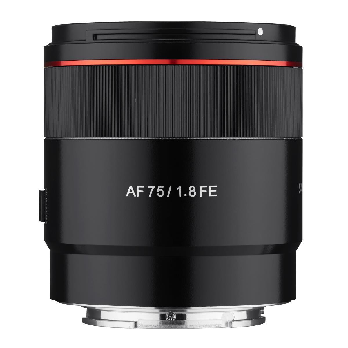 SAMYANG AF 75mm F1.8 FE Objektiv für Sony E Mount [Ebay Foto Köster]