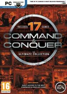 [Origin] Command and Conquer: The ultimate Collection für 3,29€ @ CDKeys