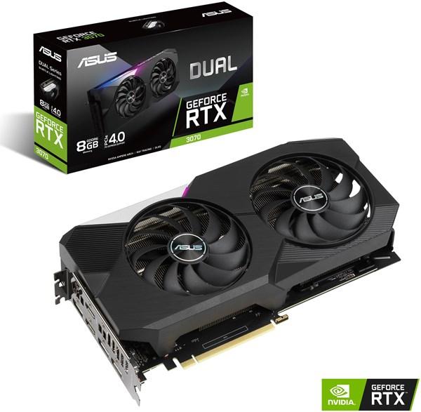 ASUS GeForce RTX 3070 DUAL-RTX3070-8G Grafikkarte