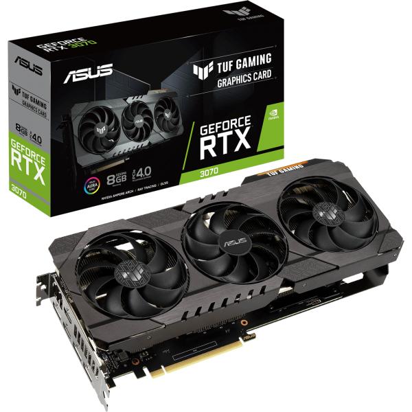 ASUS GeForce RTX 3070 TUF OC (Einer der besten Kühler)