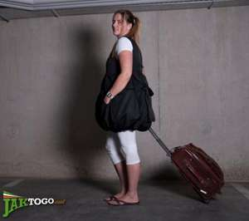 Koffer zum Anziehen - Ryanair Gepäckgebühren umgehen!