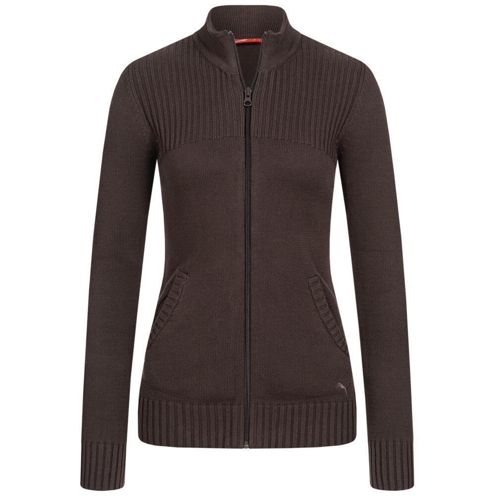 """PUMA Damen Strickjacke """"Core Knitted / Cat Knitted"""" für 12,99€ + 3,95€ VSK (100% Baumwolle, 3 Farben verfügbar, Größe XS - M) [SportSpar]"""