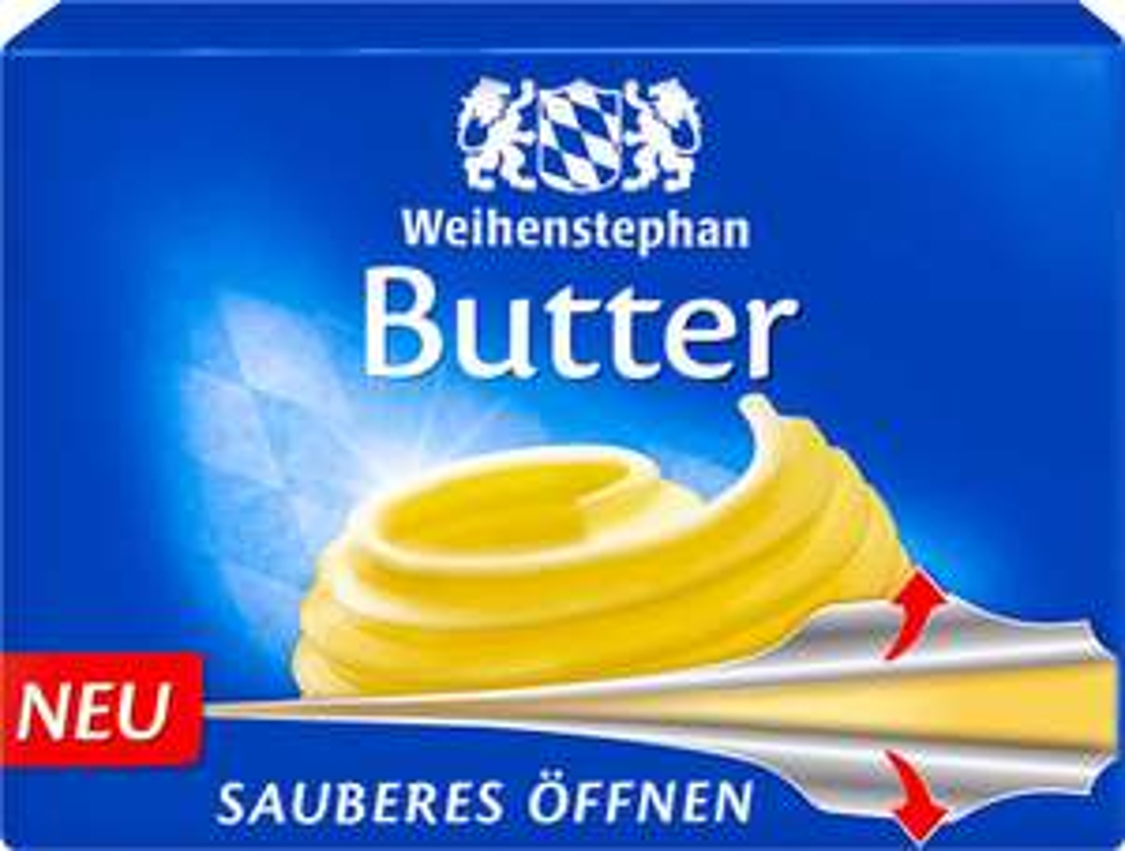 [Kaufland + Norma] WEIHENSTEPHAN Butter 250g