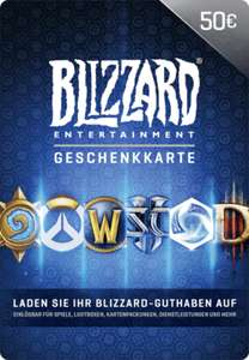 Blizzard Gift Card 50 EUR EU Battle.net Schlüssel