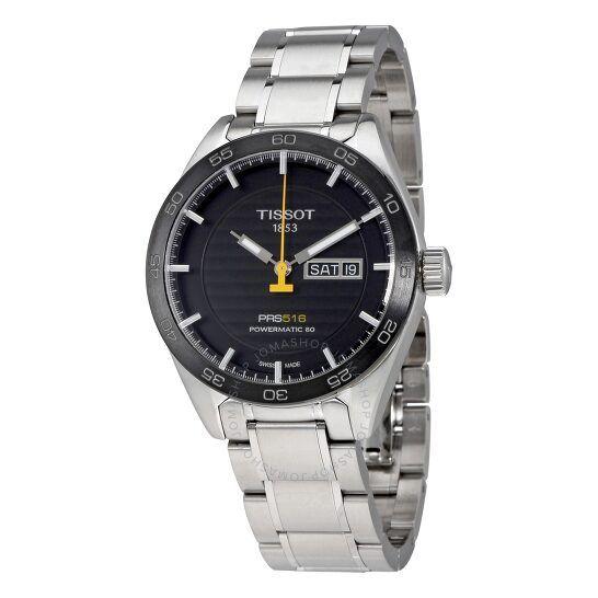 Tissot PRS 516 Automatic Black Dial Men's Watch T100.430.11.051.00 Automatikuhr