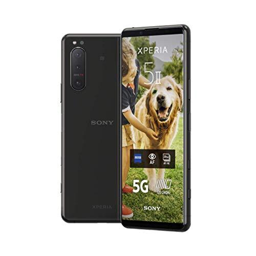 "Sony Xperia 5 ii 5G (6,1"" FHD+ 120Hz OLED, 163g, 8/128GB, SD865, IP68, Klinke, NFC, Dual-SIM, 4000mAh, 21W) [V&V Amazon]"