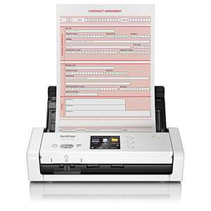 Brother ADS1700W Mobiler Scanner ADS1700WUN1 A4/Duplex/WLAN/Farbe