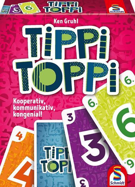 [Thalia Club/Filialabholung] Tippi Toppi, Familienkartenspiel, Kartenspiel, Schmidt 75051