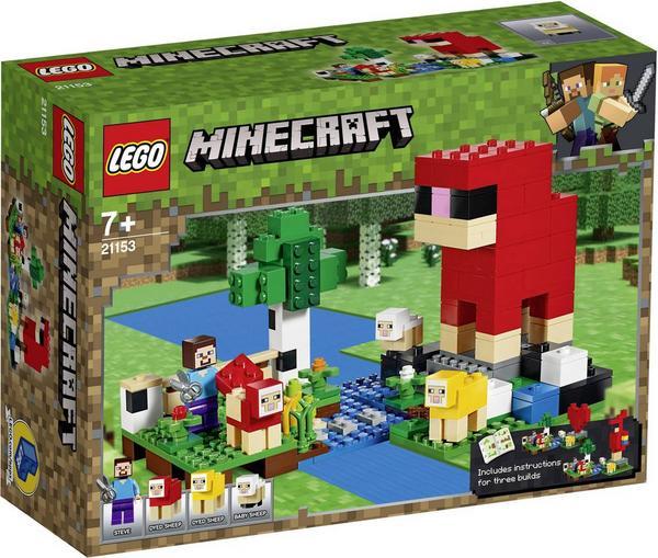 LEGO Minecraft 21153 - Die Schaffarm, Schaf Farm, Tiere, Bauset