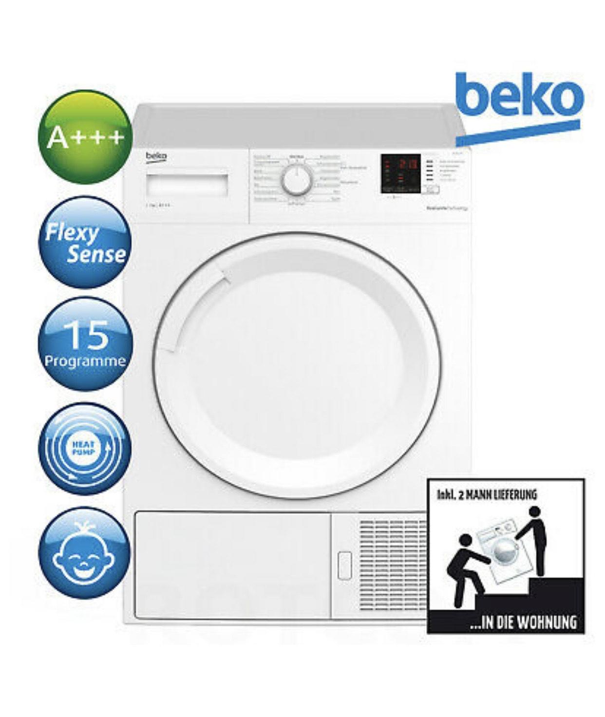 Ebay - Beko Wärmepumpentrockner DS7512PA