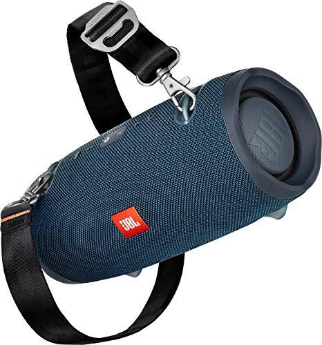 JBL Xtreme 2 - Bluetooth Lautsprecher (IPX7, integrierte 10.000mAh Powerbank, USB-Ladefunktion in Ocean Blue