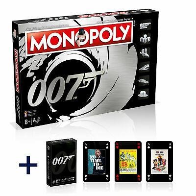 Monopoly James Bond 007 Deutsch Französisch Edition Brettspiel + Kartenspiel (VORVERKAUF)