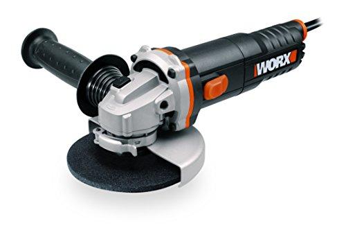 WORX WX712 Winkelschleifer 125mm, 860 W – Kompaktes Schleifgerät mit verstellbarem Griff plus vibrationsfreiem Zusatzhandgriff