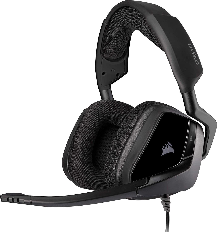 Corsair Void Elite Stereo Gaming-Headset (Memoryfoam, 50mm Treiber, Omnidirektionales Mikrofon, für PS4, Xbox, PC & Nintendo Switch)