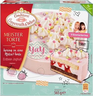 REWE Coppenrath & Wiese Torte für 1,31€ Erdbeer Joghurt Gutschein Rabatt Preisfehler