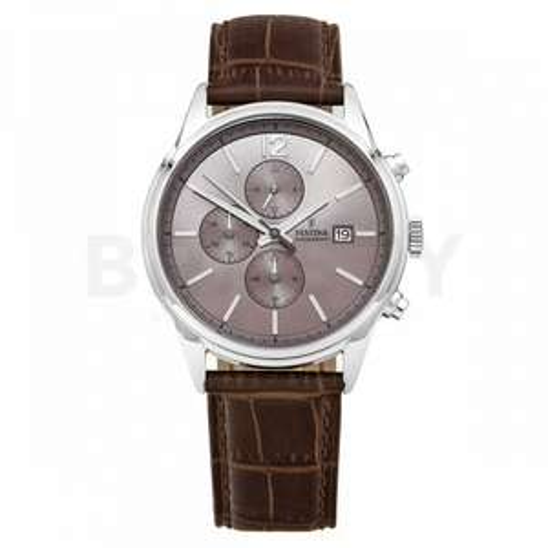 Festina Herren Chronograph Quarz Uhr mit Leder Armband F20284/2 für 53,78€ (Brasty)