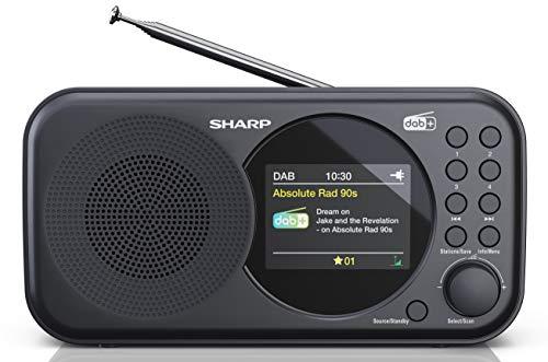 [Amazon] SHARP DR-P320 (BK) DAB+ Digital Radio, DAB/DAB +/FM mit RDS-Lauftext, Alarm-/Schlummerfunktion