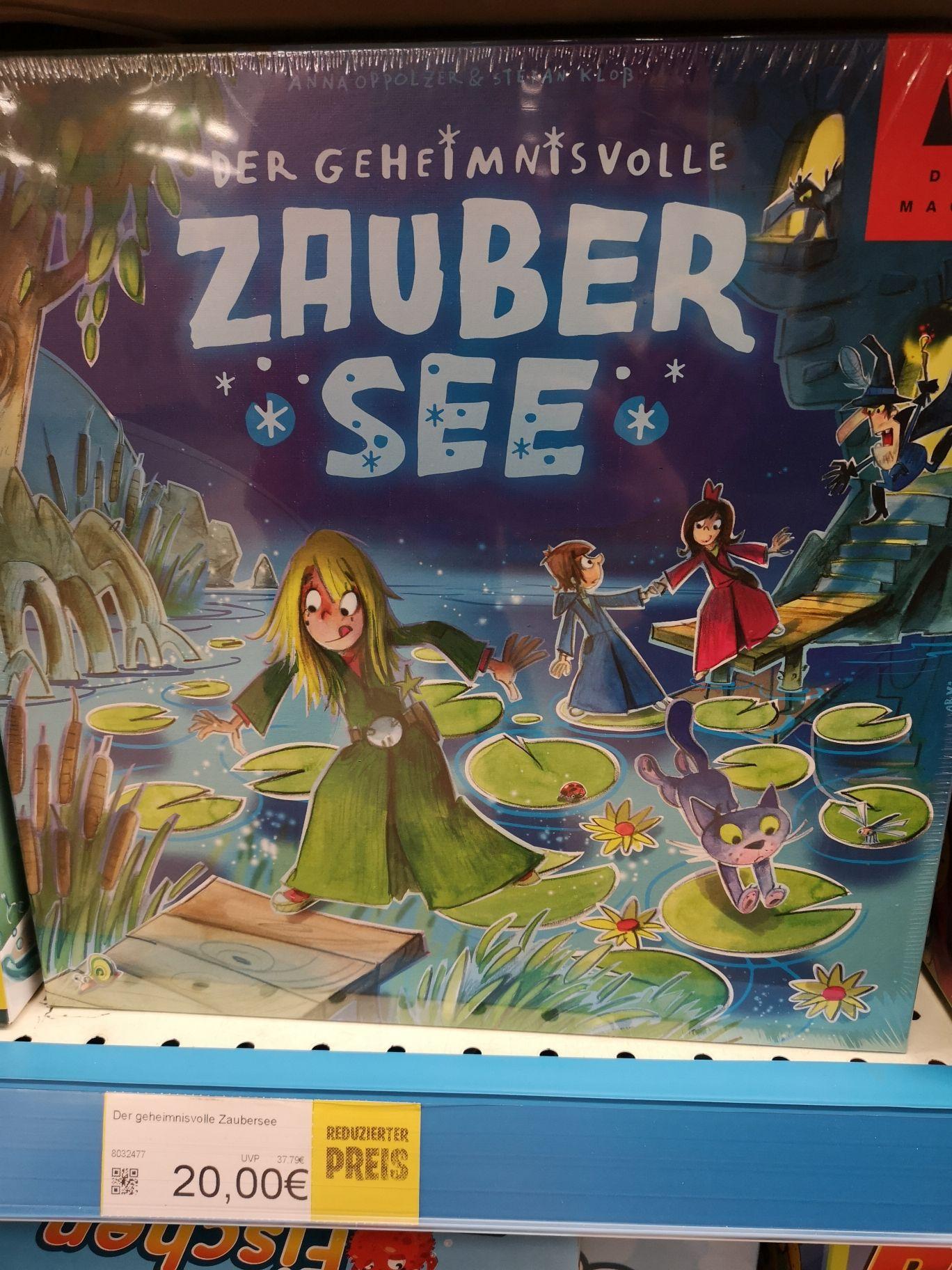 [Lokal]? München, Smyths Toys Brettspiel, Der geheimnisvolle Zaubersee, Drei Magier