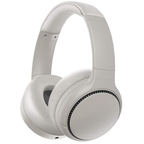 [Amazon WHD] Panasonic RB-M500BE-C Bluetooth Over-Ear Kopfhörer (Sprachsteuerung, Bass Reactor, 1,2 m Kabel, bis 30 h Akkulaufzeit) weiß