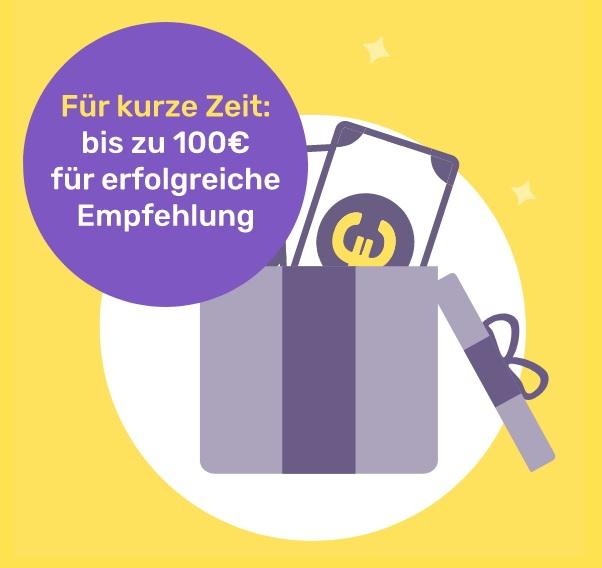 [KFZ-Versicherung] 100€ Freunde Werben - Friday
