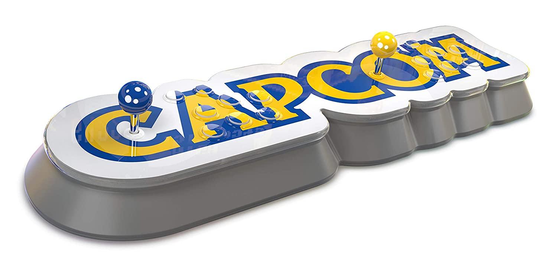 Capcom Home Arcade (16 Spielhallen-Klassiker vorinstalliert, Sanwa-Sticks & -Knöpfe, HDMI, USB, WLAN)