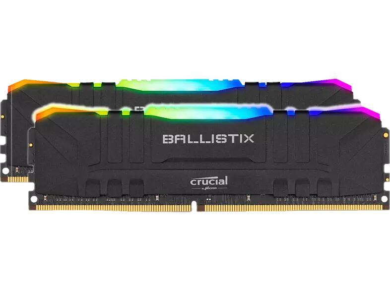 CRUCIAL Ballistix Arbeitsspeicher 16 GB (2x8) DDR4 3600Mhz Cl16