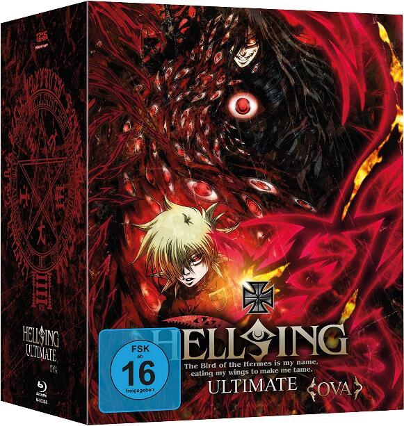 Hellsing: The Dawn (Re-Cut OVA) - Limited Mediabook Edition mit Sammelbox (Blu-ray) für 10,99€ (Weltbild)