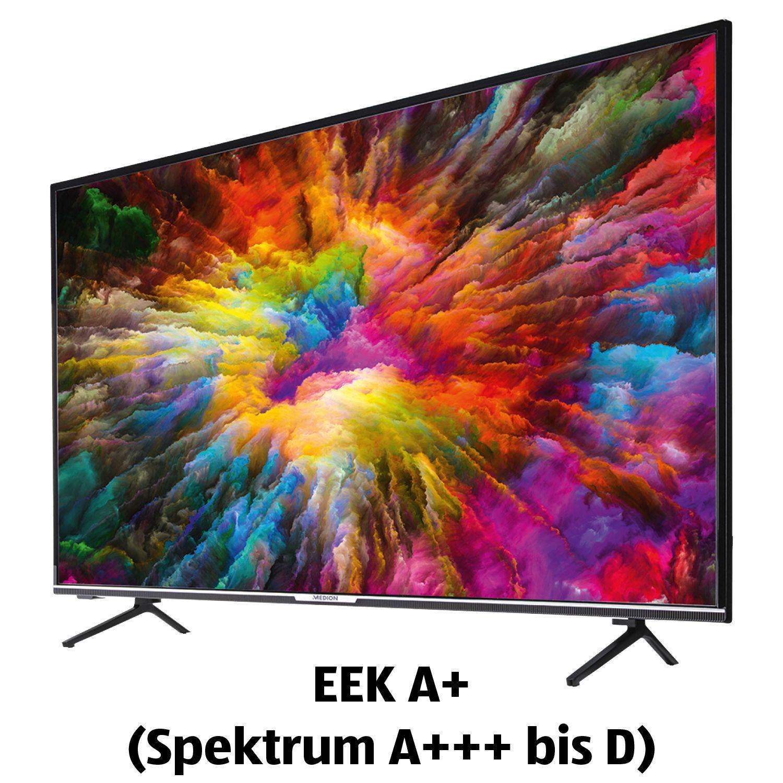55 Zoll Smart-TV Medion X15575 UHD 4K für 299€ bei Aldi Süd