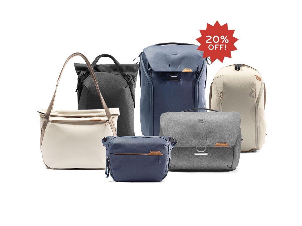 Peak Design 10% - 20% auf Taschen, Rucksäcke, Stative z.B. Peak Design Everyday Messenger 13L V2