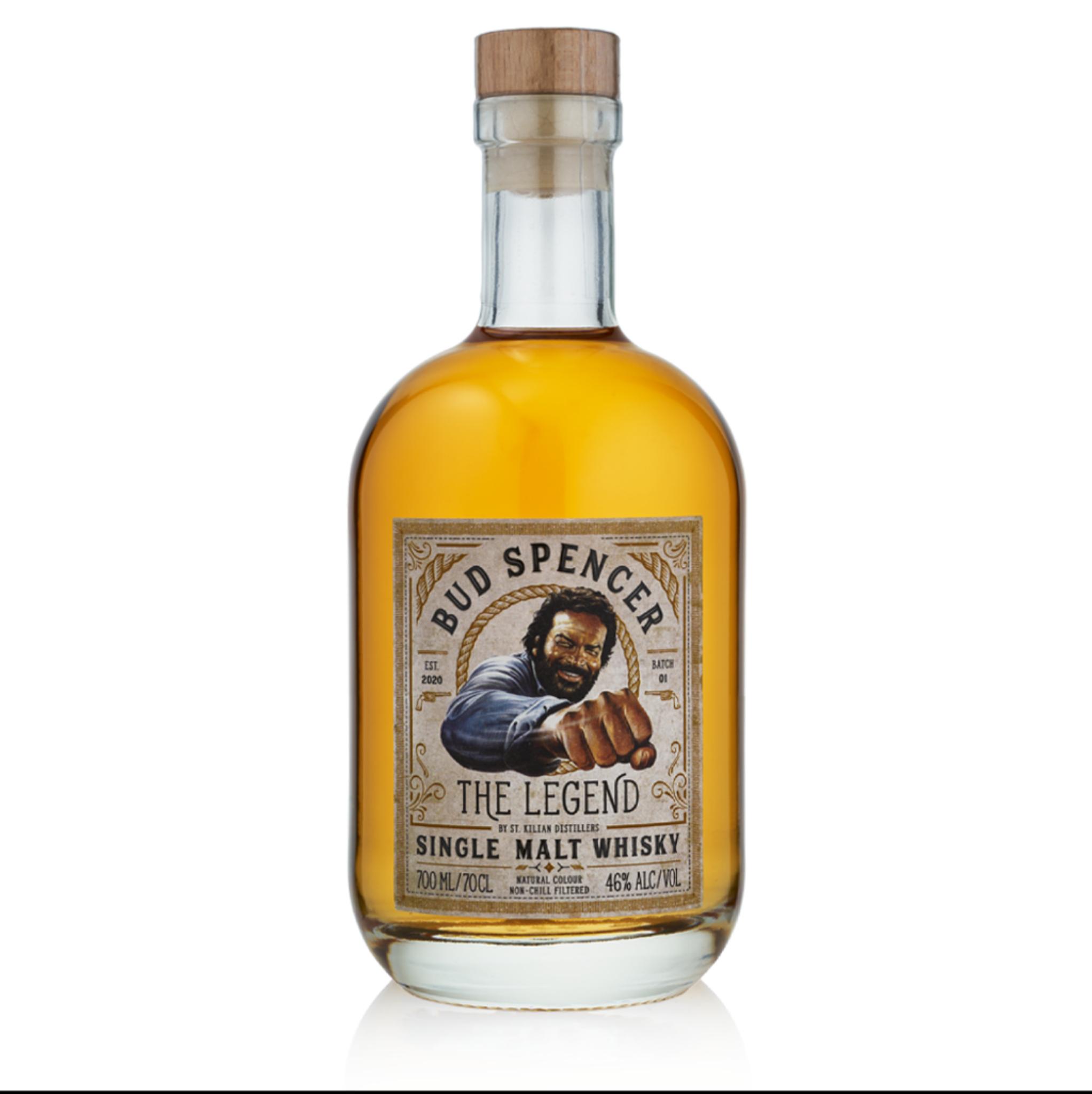 (Geschenkidee) Single Malt Whisky Bud Spencer - The Legend 0,7 l