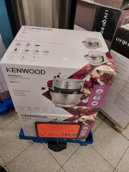 lokal Kaufland Berlin Lichtenberg - Kenwood prospero+ Küchenmaschine für 150€