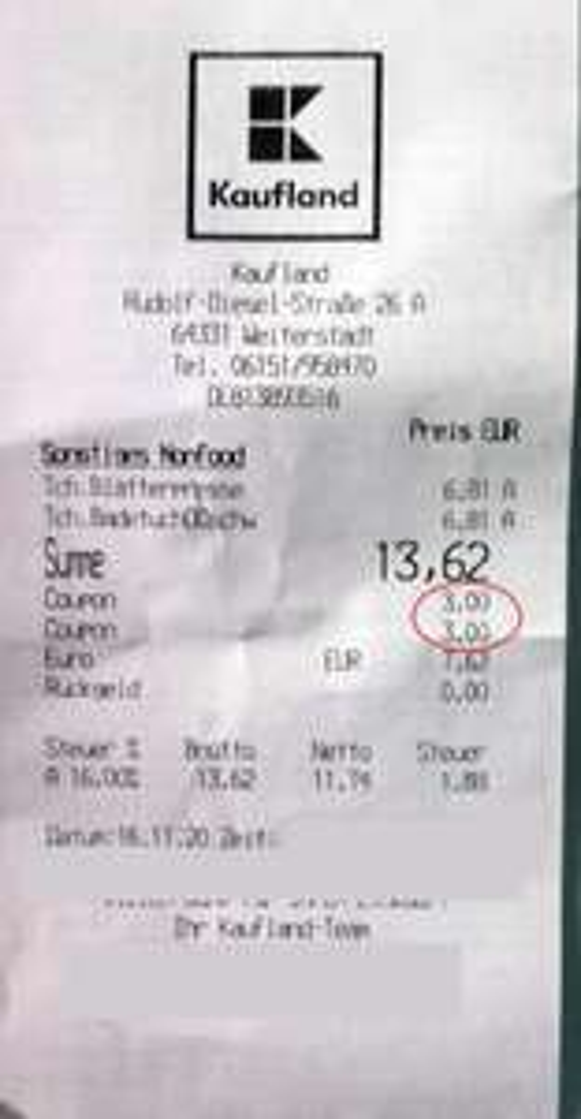 [KAUFLAND] 2 Tchibo Non-Food Produkte mit 6€ statt 3€ Rabatt (2 Coupons)