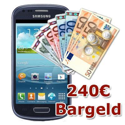 Samsung Galaxy S3 Mini + 240€ Bargeld inkl. Vodafone RED M für 34,50€ effektiv