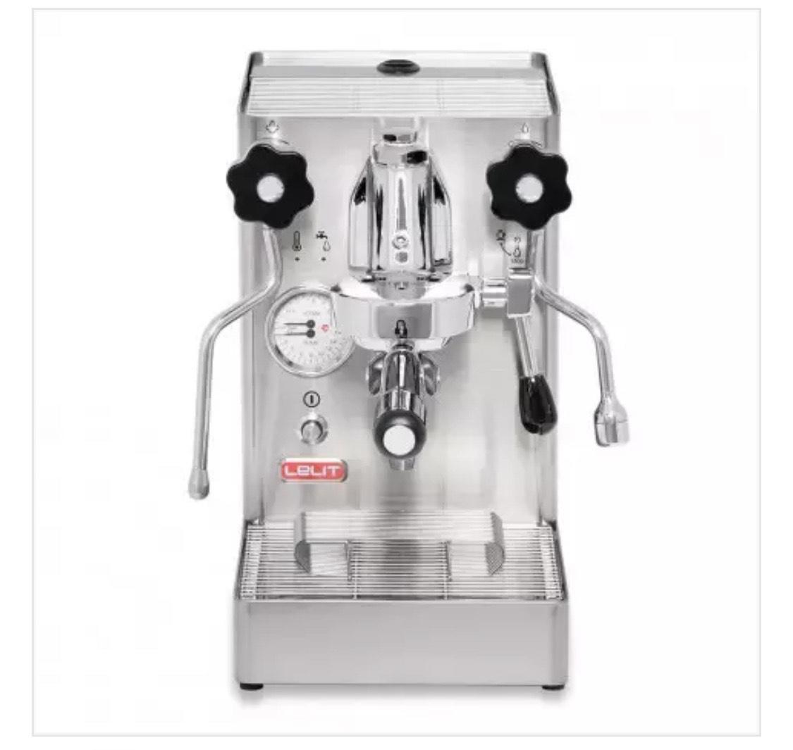 Lelit Mara PL62X, Siebträgermaschine, Espressomaschine, Zweikreiser