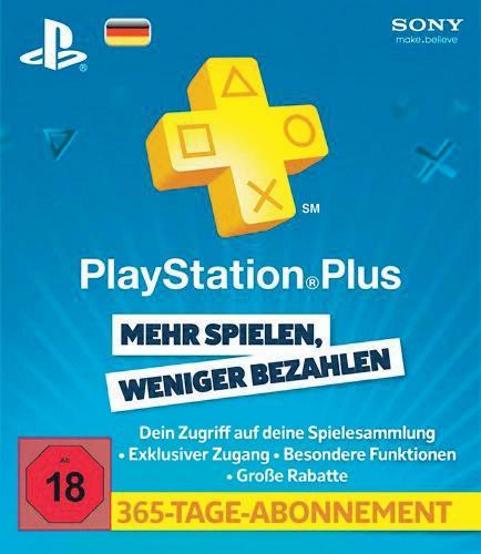 [Conrad]  Playstation Plus Jahres-Abo + 10€ PSN Guthaben