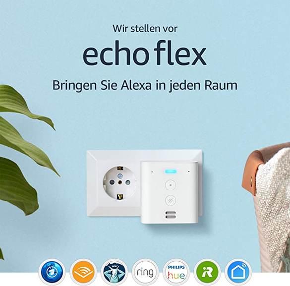 Amazon Echo Flex für 14,61€ mit Prime
