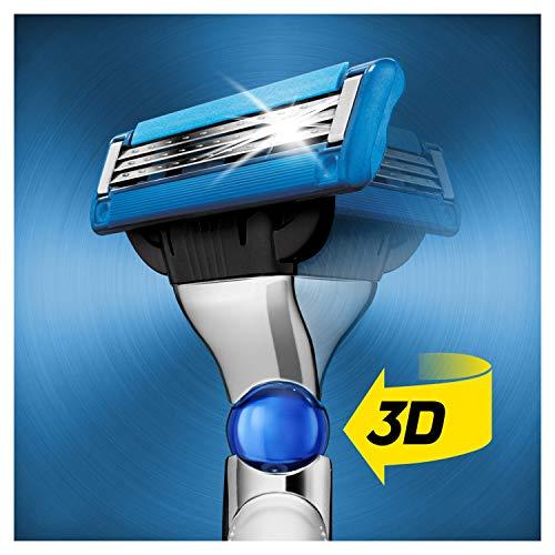 Gillette Mach3 Turbo 3D Rasierer + 4 Rasierklingen (personalisiert)
