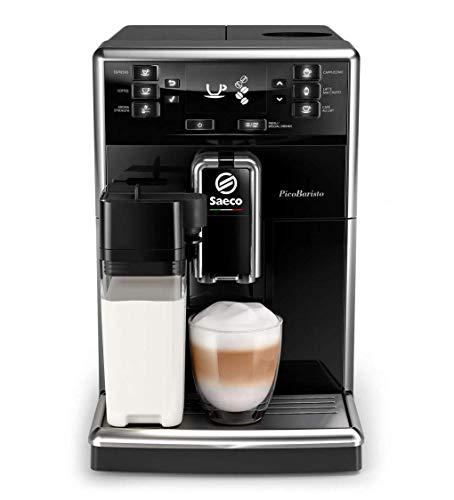 [Amazon.it] Saeco PicoBaristo SM5460/10 Kaffeevollautomat, 10 Kaffeespezialitäten (integriertes Milchsystem) schwarz
