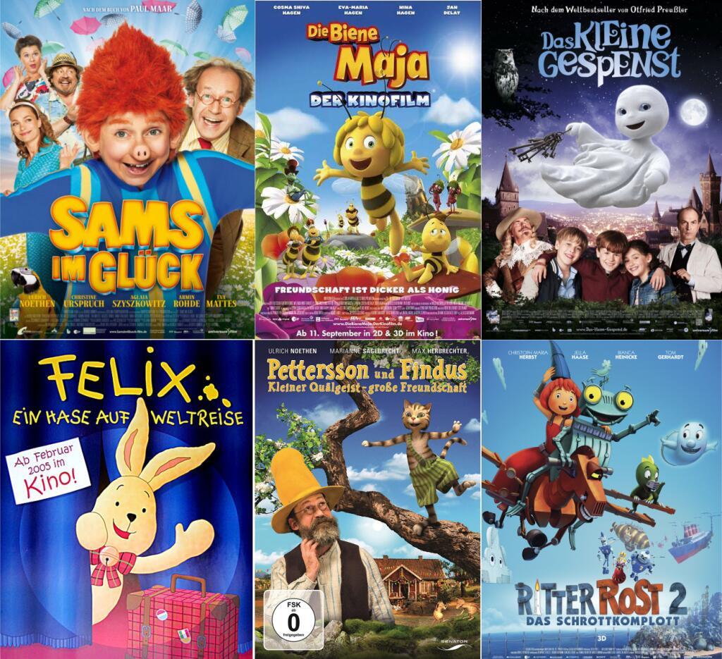 29 Kinderfilme Sammeldeal | u.a. Sams, Maja, Felix, Findus, Kokosnuss, Lotta, Heidi, ...