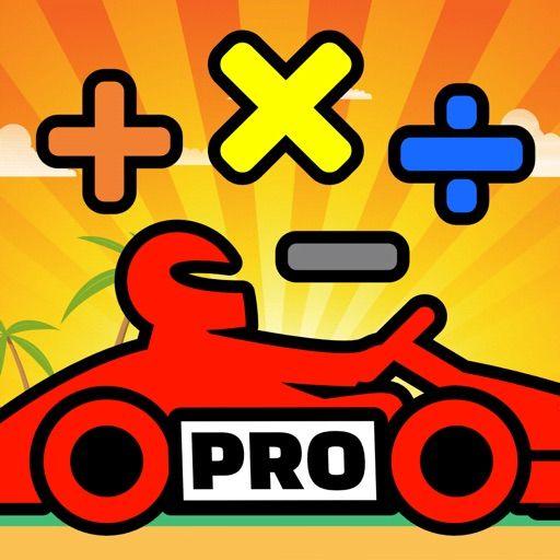 Math Racing 2 Pro - Mathe-Lernspiel für iPhone & iPad (4,3*, keinerlei Werbung oder In-App-Käufe) [iOS-Freebie]